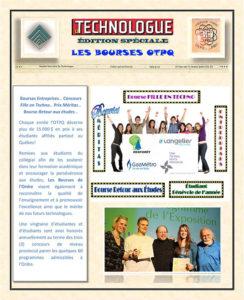 Édition Spéciale (Bourses OTPQ)