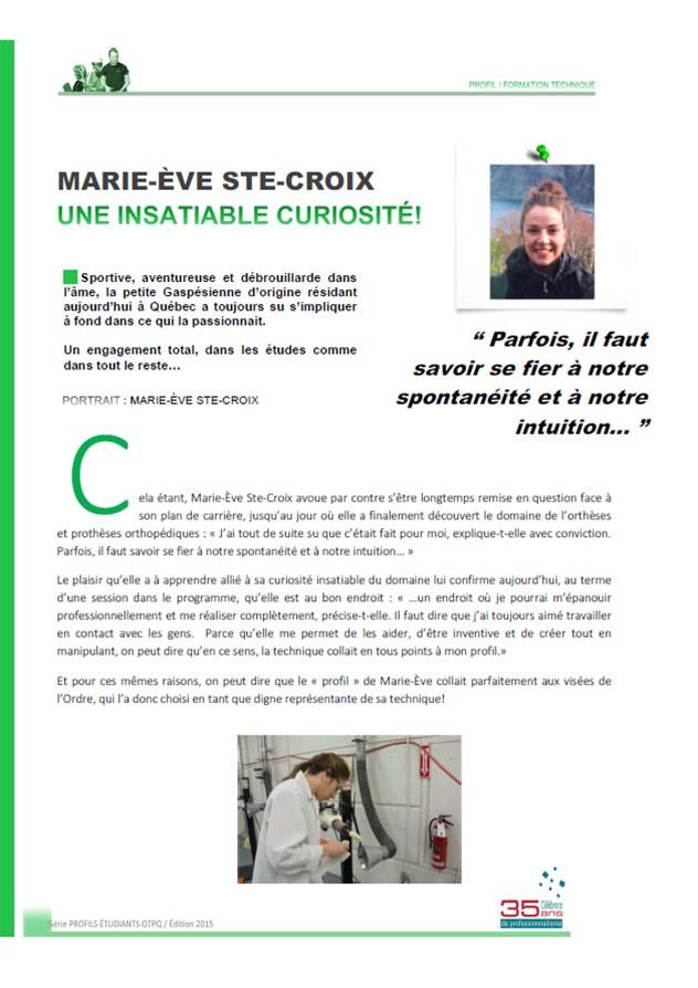 Marie-Ève Ste-Croix