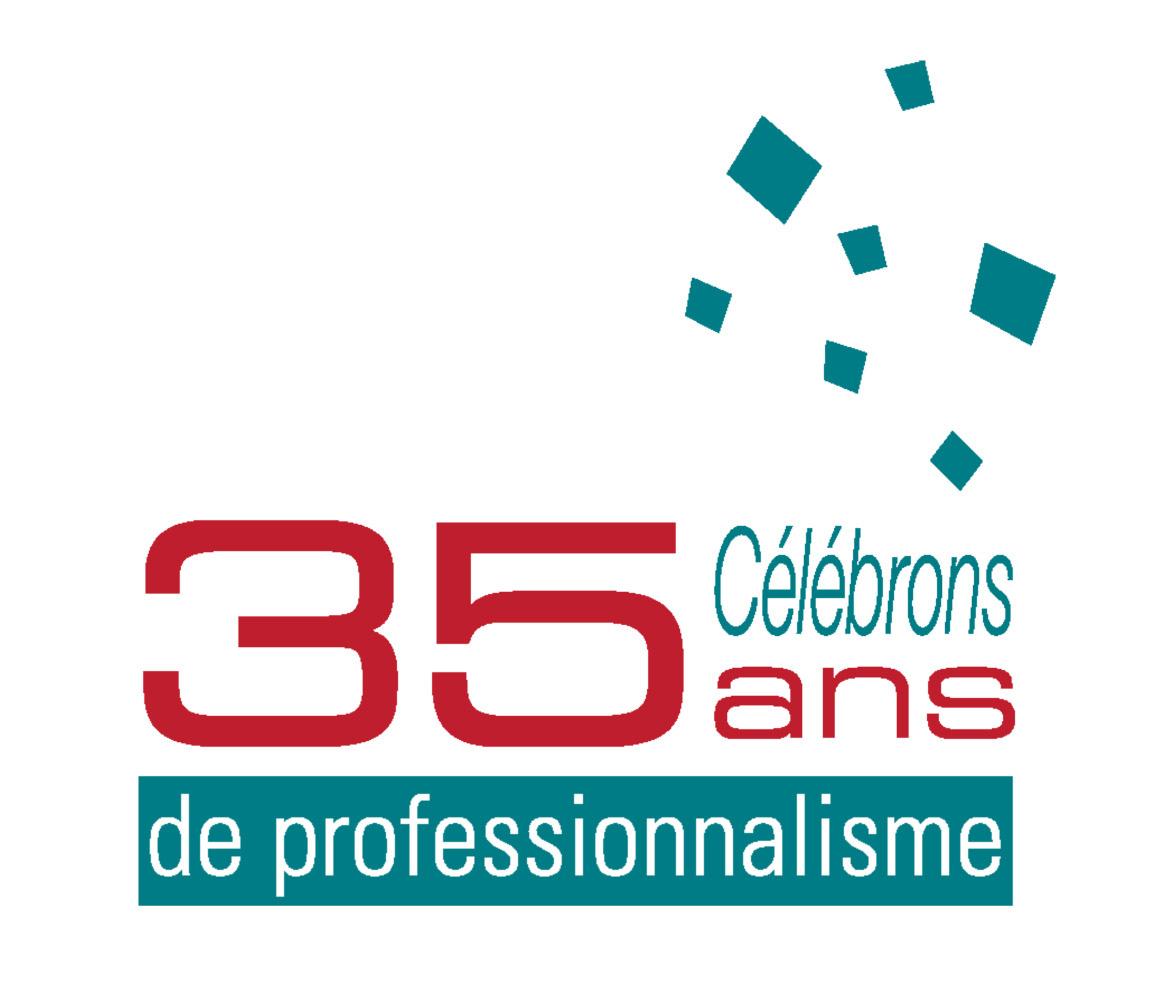 Célébrons 35 ans de professionnalisme