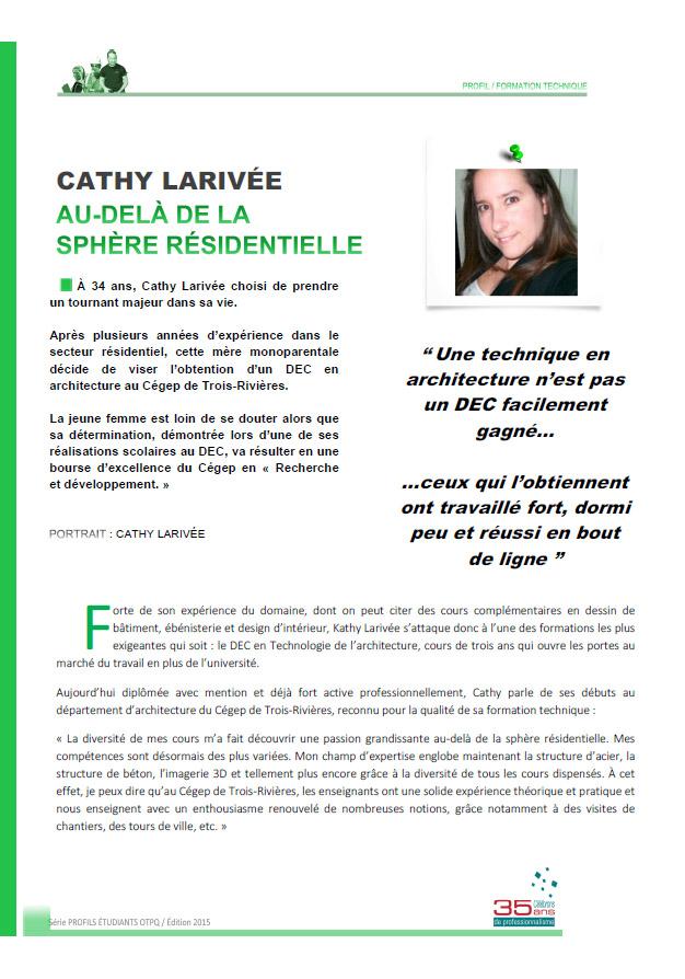 Cathy Larivée