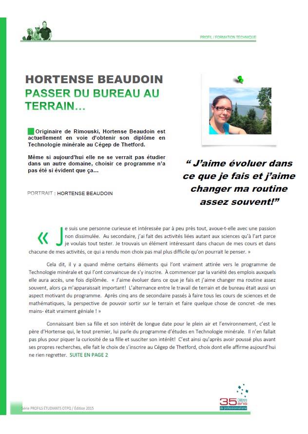 Hortense Beaudoin