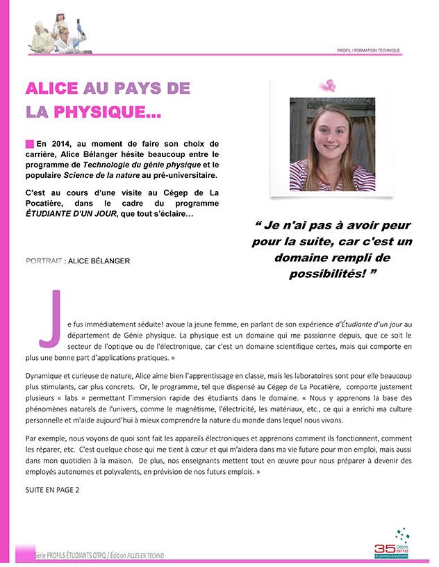 Alice Bélanger