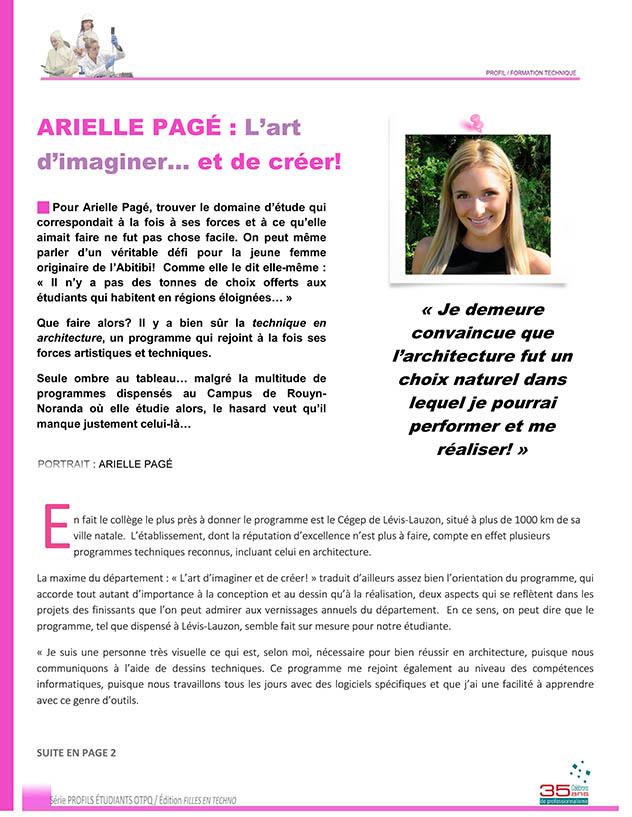 Arielle Pagé