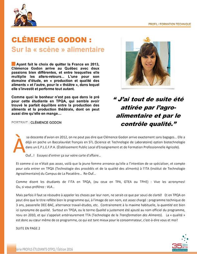 Clémence Godon