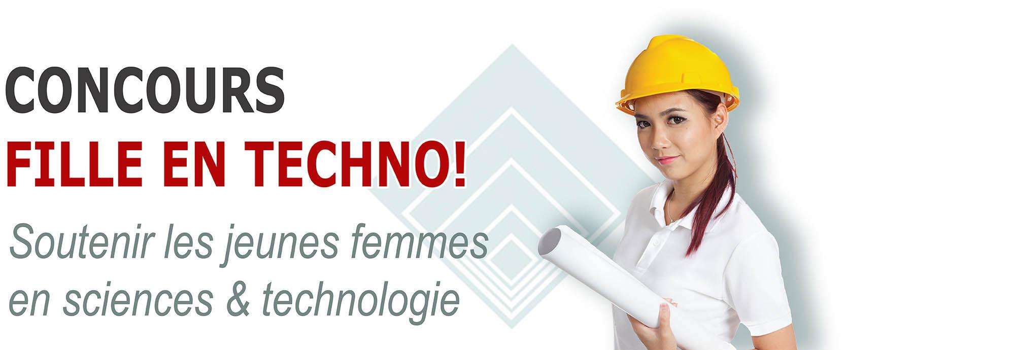 Concours Fille en Techno! - Soutenir les jeunes femmes en sciences & technologie - Portail étudiant OTPQ