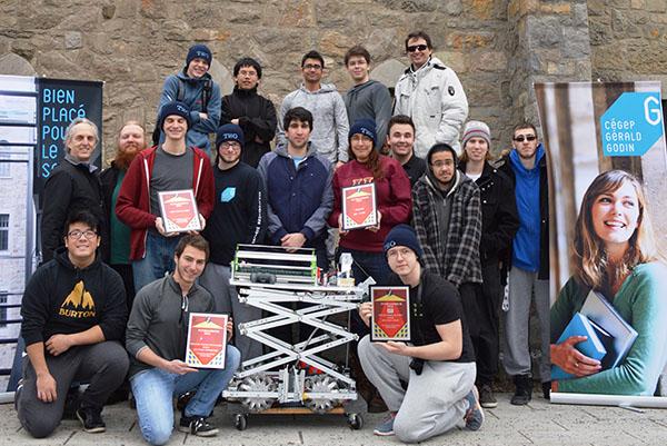 Cégep Gérald Godin - Technologie de systèmes ordinés – Électronique programmable et robotique (243.A0)